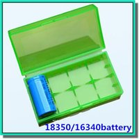 Wholesale Top selling battery box battery storage case plastic battery storage container pack or for mech mod battery
