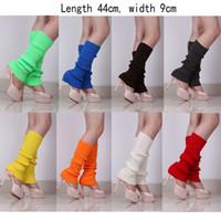Wholesale Women Girls Leg Warmer Candy Color Boot Cuffs Higher Heel gaiters Boot Socks Crochet Leg Warmers Knit Leg Warmers