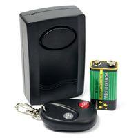 Wholesale Wireless Home Door Window Security Remote Control Vibration Detector Burglar Alarm