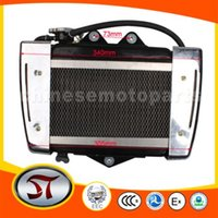 Wholesale Medium Radiator for cc cc water cooled ATV Dirt Bike Go Kart order lt no track