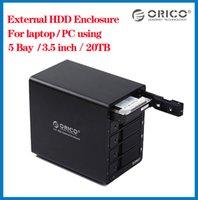 Wholesale ORICO bay hard drive box U3 TB sata to usb External inch hard disk docking station hdd enclosure box case hd