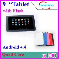 Wholesale DHL Cheapest tabet pc inch Android ATM7029 Qual Core GHz with flash light Capacitive Screen M GB WIFI Dual Cam YX MID