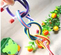 Wholesale DHL Creative Stationery Magic Soft Pencil Flexible Plastic Pencil Easily Bend Pencil