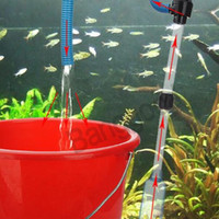 best auto vacuum - Best Promotion Electric Battery Syphon Auto Fish Tank Vacuum Gravel Water Pump Filter Cleaner Washer Hot Sale New Home Aquarium