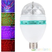 Wholesale Crystal Magic Ball Stage Effect Light Led RGB Rotating Big Lamp Disco DJ Party SUU