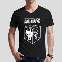 big bang theory - Personalized Schrodinger s Cat T Shirt V Neck Fashion Big Bang Theory Men T Shirts Short Sleeve Men Cotton Casual Tee Shir