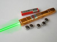 No adjustable head pointer - Gold plated high power nm green laser pointers adjustable focus burn match with laser heads charger