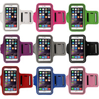 Wholesale New Fashion Workout Phone Armband Gym Running Sport Arm Band Protective Cover Case For iPhone Inch Hgih Quanlity