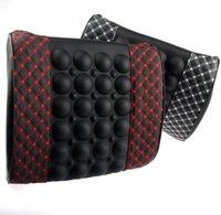 Rouge coussin de coton vin de mémoire voiture de taille coussin de soutien massage de voiture coussin lombaire oreiller tournure coussin
