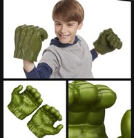 Wholesale Marvel Hulk Gloves The Avengers Super hero Hulk Gloves W11