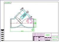 Wholesale Clamp type pressure filter DN65 drawings Full Machining drawings