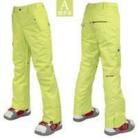 Wholesale Gsou snow ski pants women s snowboard pants waterproof snow trousers womens breathable hiking pants softshell pants