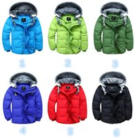 Wholesale Children Jackets Kids Jacket Winter Kids Jackets Kids Girls Quilted Jacket Winter Warmer Padded Coat Hooded Long Snowsuit Hoodie