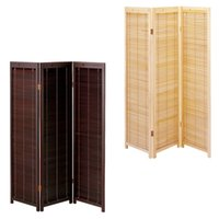 Wholesale Blind Partition Oriental Japanese Style Panel Wood Folding Screen Room Divider Home Decor Decorative Portable Asian Furniture