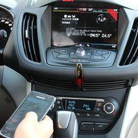 Wholesale 3 mm USB Wireless Bluetooth Receiver Audio Music Adapter Home Car AUX Speaker
