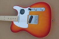 Wholesale Cherry Burst Tele Solid Body Electric Guitar electric guitar for beginners Guitar For Sale