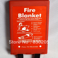 Wholesale CE Approved Professional Seller x1 m In Box Kitchen Office Home Using Emergency Survival Cheap Fire Blanket