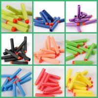 Wholesale 10000PCS HHA101 Multicolor Nerf N strike Elite Rampage Retaliator Series Blasters Refill Clip Darts electric toy guns soft nerf bullet