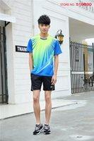 badminton shirt design - New Design LI NING Badminton Polo Set Tshirt Shorts Breathable Quick Dry Badminton Shirt and Shorts AAYH053 AAYH152