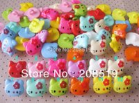 Wholesale NB0106 BigSize can choose color Hello Kitty Children Buttons Mixed Plastic buttons mm mm shank sewing accessory