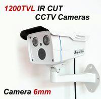 1200TVL IR CUT Camera Array LED CCTV Vidéo Surveillance Caméra de Sécurité 6mm Lens Outdoor Night Vision Waterproof