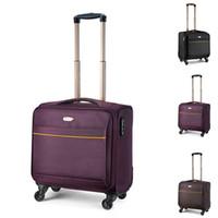 Viajes 16inch alta calidad tela Oxford negocios Trolley equipaje maleta del viaje Boarding bolsa de ordenador portátil para los hombres y mujeres JO0006 Salebags