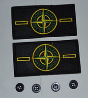 Wholesale 2 sets spot embroidered standard arm badge button cloth standard tag made