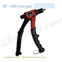 Wholesale hot sales quot MM M3 M4 M5 M6 hand riveter rivet gun riveting tools with gun head