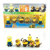 doll boxes - 2015 Despicable Me Toys Minion Rush Little Yellow Minions Despicable Me Action Figure Doll with retail box