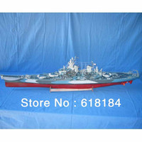 battleship missouri model - Free shipment A3 paper ships model Large cm Long WWII Super warships US USS Missouri BattleShip d puzzles collectables