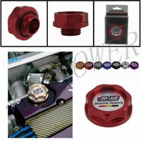 Wholesale Mugen Style Oil Cap Racing Aluminum Engine Oil Fuel Filler Cap Tank Cover for Honda Acura Civic