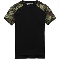army combat shirt - Man Casual Camouflage T shirt Men Cotton Army Tactical Combat T Shirt Military Sport Camo Camp Mens T Shirts Fashion Tees