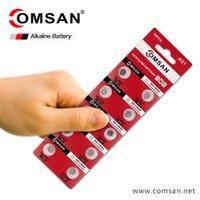 button cell lr621 - 10pcs Alkaline battery AG1 SR621 LR621 men women watch button cell Comsan coin cell toys batteries