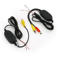 Cheap 2.4 Ghz Wireless Video Transmitter Receiver Kit For Car Monitor To Connect The Car Rear View Camera Reverse Backup