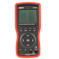 Wholesale UNI T UT267B Auto Three Phase Digital Clamp Phase Meters VA Voltammeter Power Meter w Phase Sequence Test