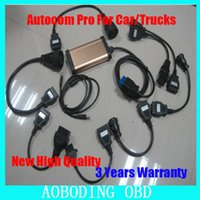 Cheap 2015 Top Quality with lable and 8 pieces car cables CDP Pro cars & trucks(Compact Diagnostic Partner )