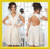 Cheap new 2015 puffy ball gown cocktail dress Best sexy short women prom evening dress