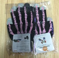 Wholesale 2015 New Winter Touch Gloves Human Skeleton Capacitive Screen Touch Gloves for iPhone S C S iPad mini air Smartphone Tablet PC mix