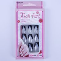 Wholesale New A set design your nails fake nail art sticker D nail decoration fashion nail patch