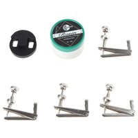 Wholesale 3 in Cello Accessory Set Kit Round Cello Mute Rosin Fine Tuner for Cello MIA_309