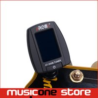 bass guitar tuning notes - Aroma AT B Digital LCD Mini Clip on Tuning Tuner For Guitar Ukulele Bass Violin Chromatic note MU0202