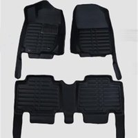 Wholesale For Toyota Rav4 XA40 Car Styling D Stereo Surround Leather Materal Foot Mat Car Floor Mats Per Set