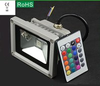 ac low pressure - LED floodlights lamp discus RGB10W20W30W50W waterproof outdoor remote control low pressure