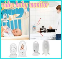Wholesale CCTV wireless Video Baby Monitor Camera quot LCD GHz Two Way Talk Back Lullabies Night Vision Temperature Monitoring Hi Q VB601