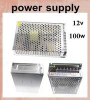 inverter battery - Aluminum matal power supply for led power inverter power adapter box power charger ac to dc v for battery powered led strip light DY019