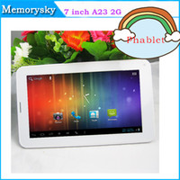 Under $50 7 android 4.0 tablet - 7 inch Phablet Allwinner A23 G GSM Phone Tablet PC M GB Bluetooth Dual Camera Android Cheap tablet pc New Arrival