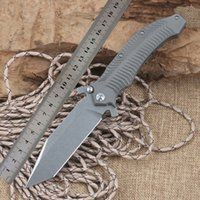 Wholesale Wild boar Darrel Ralph DDR AXD Expendables titanium D2 camp hunt outdoor survival tactical folding pocket knife bearing tool