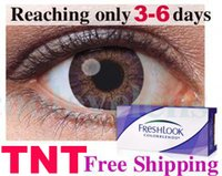 Wholesale HOT DHL only need days pairs freshlook Contact lenses crazy conact lens Color Contact lens Tones colors EYE