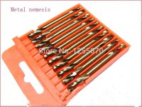Wholesale 10pcs box Cobalt high speed steel twist drill steel stud mm for choose order lt no track