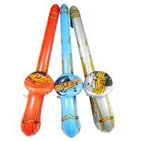 Wholesale Inflatable Jazz Instrument Musical Fancy Party Decoration Blow Up Saxophone